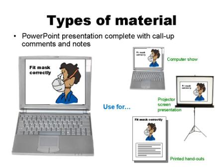 Sample uses PPT